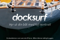 Hyr ut din båt med full kontroll - Docksurf
